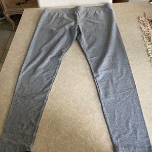 Missimo grey cotton leggings, XL